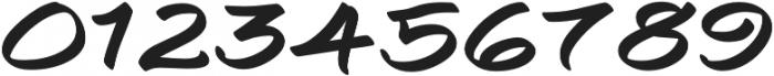 Togashi Expanded Regular otf (400) Font OTHER CHARS