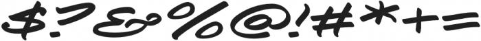Togashi Extra-expanded Italic otf (400) Font OTHER CHARS