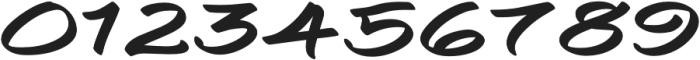 Togashi Extra-expanded Regular otf (400) Font OTHER CHARS