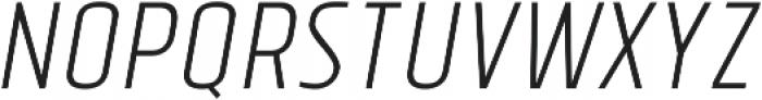Tolyer Light no.3 Oblique ttf (300) Font UPPERCASE