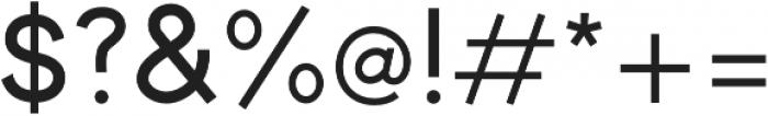 Toma Sans SemiBold otf (600) Font OTHER CHARS