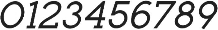 Toma Slab Medium Italic otf (500) Font OTHER CHARS