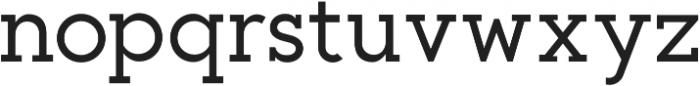 Toma Slab Medium otf (500) Font LOWERCASE