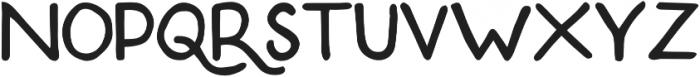 Tomahawk otf (400) Font LOWERCASE