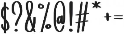 Tomatillo Soup Alt Lower Case Script otf (400) Font OTHER CHARS