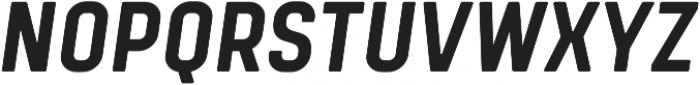 Tomkin Condense Bold Italic otf (700) Font UPPERCASE