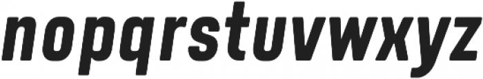 Tomkin Condense Bold Italic otf (700) Font LOWERCASE