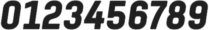Tomkin Condense ExtraBold Italic otf (700) Font OTHER CHARS