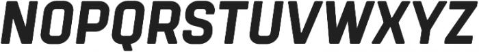 Tomkin ExtraBold Italic otf (700) Font UPPERCASE