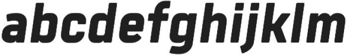 Tomkin ExtraBold Italic otf (700) Font LOWERCASE