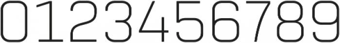 Tomkin ExtraLight otf (200) Font OTHER CHARS