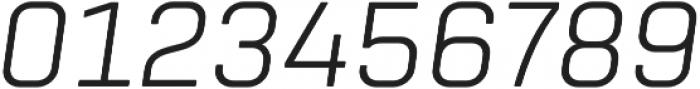 Tomkin Light Italic otf (300) Font OTHER CHARS