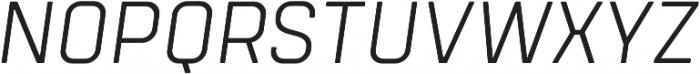 Tomkin Light Italic otf (300) Font UPPERCASE