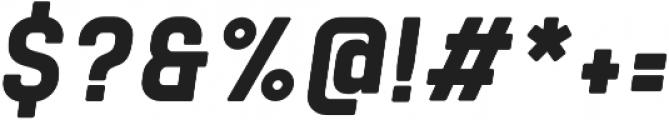 Tomkin Narrow ExtraBold Italic otf (700) Font OTHER CHARS