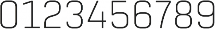 Tomkin Narrow ExtraLight otf (200) Font OTHER CHARS