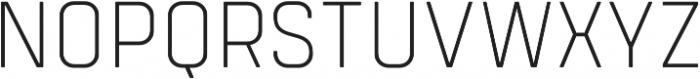 Tomkin Narrow ExtraLight otf (200) Font UPPERCASE