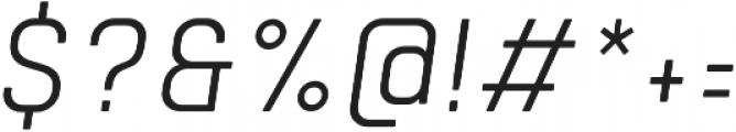 Tomkin Narrow Light Italic otf (300) Font OTHER CHARS