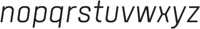 Tomkin Narrow Light Italic otf (300) Font LOWERCASE