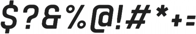 Tomkin Narrow Medium Italic otf (500) Font OTHER CHARS
