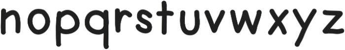 TomoSans Medium otf (500) Font LOWERCASE