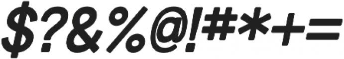 Tomorra Italic otf (400) Font OTHER CHARS