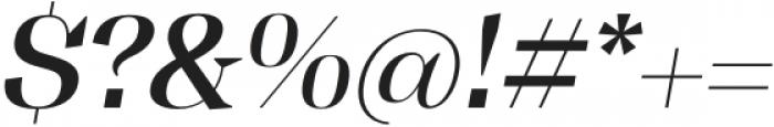 Tonus Display Medium Italic otf (500) Font OTHER CHARS