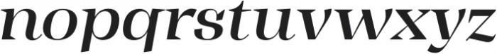 Tonus Display Medium Italic otf (500) Font LOWERCASE