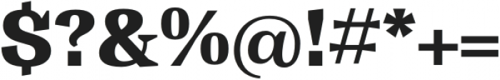 Tonus Text Heavy otf (800) Font OTHER CHARS