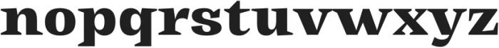Tonus Text Heavy otf (800) Font LOWERCASE