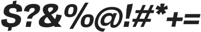 TonusSans-BoldItalic otf (700) Font OTHER CHARS