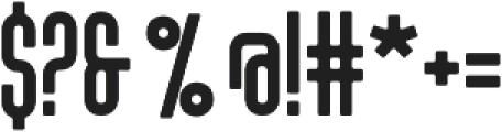 Tony Tony Evo otf (400) Font OTHER CHARS