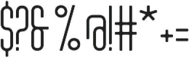 Tony Tony EvoLight otf (300) Font OTHER CHARS