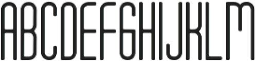 Tony Tony EvoLight otf (300) Font UPPERCASE