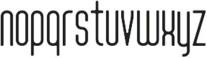 Tony Tony EvoLight otf (300) Font LOWERCASE