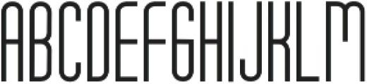 Tony Tony Light otf (300) Font UPPERCASE
