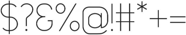 Topazia Regular otf (400) Font OTHER CHARS