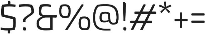 Torcao otf (400) Font OTHER CHARS