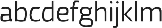 Torcao otf (400) Font LOWERCASE