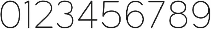 Toriga Light otf (300) Font OTHER CHARS