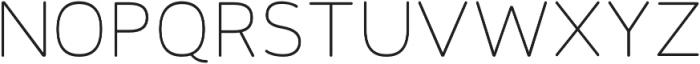 Toriga Light otf (300) Font UPPERCASE