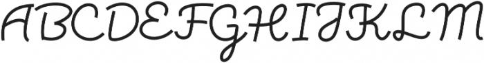 Torsion otf (400) Font UPPERCASE