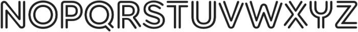 Torus Biline Bold otf (700) Font UPPERCASE