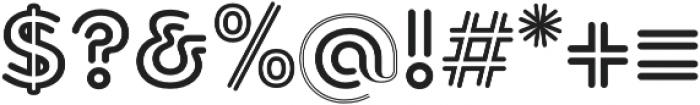 Torus Biline Heavy otf (800) Font OTHER CHARS