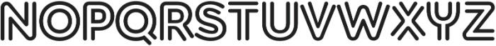 Torus Biline Heavy otf (800) Font UPPERCASE