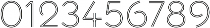 Torus Biline Light otf (300) Font OTHER CHARS