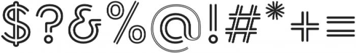 Torus Biline SemiBold otf (600) Font OTHER CHARS