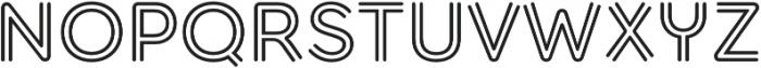 Torus Biline SemiBold otf (600) Font UPPERCASE