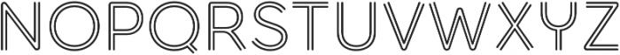 Torus Biline otf (400) Font UPPERCASE