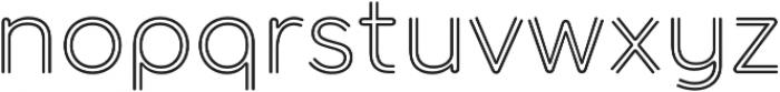 Torus Biline otf (400) Font LOWERCASE