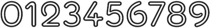 Torus Outline SemiBold otf (600) Font OTHER CHARS